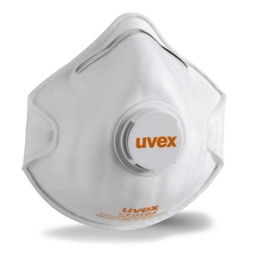 Güvenlik - Ventilli 2210 İş Ffp2 Uvex Silv-air Malzemeleri Maskesi Toz